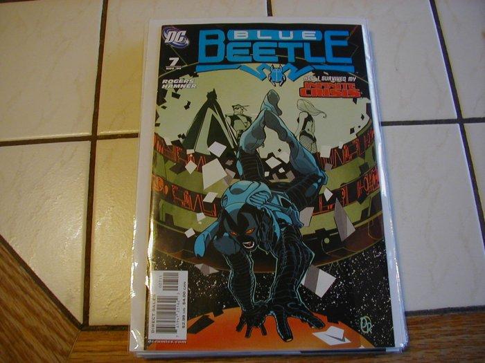 BLUE BEETLE #7 NM