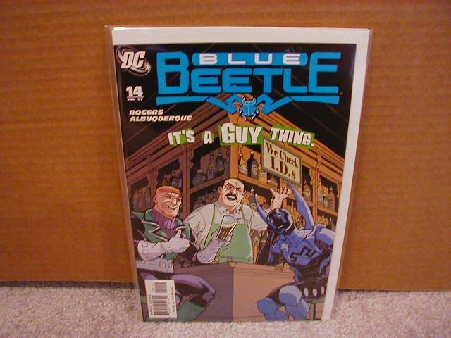 Blue Beetle #14 NM (2007)