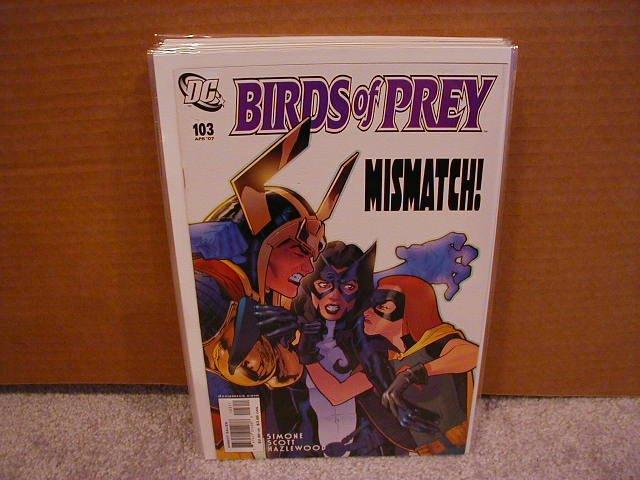Birds of Prey #103 NM