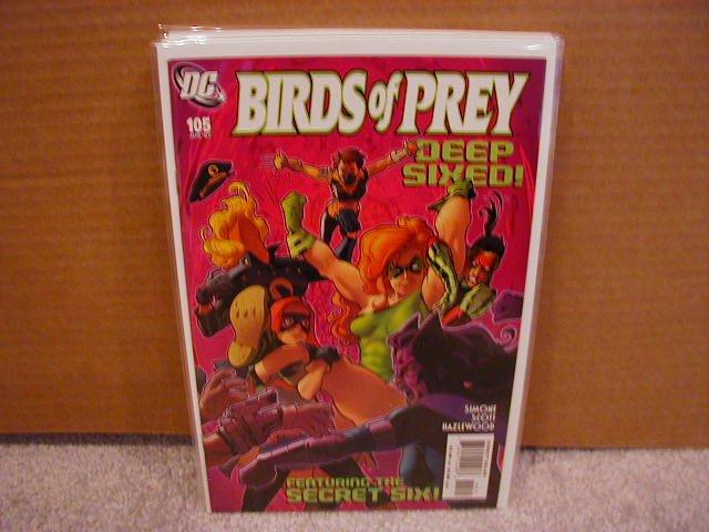 Birds of Prey #105 NM