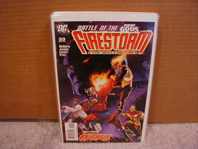 FIRESTORM #33 NM (2007)