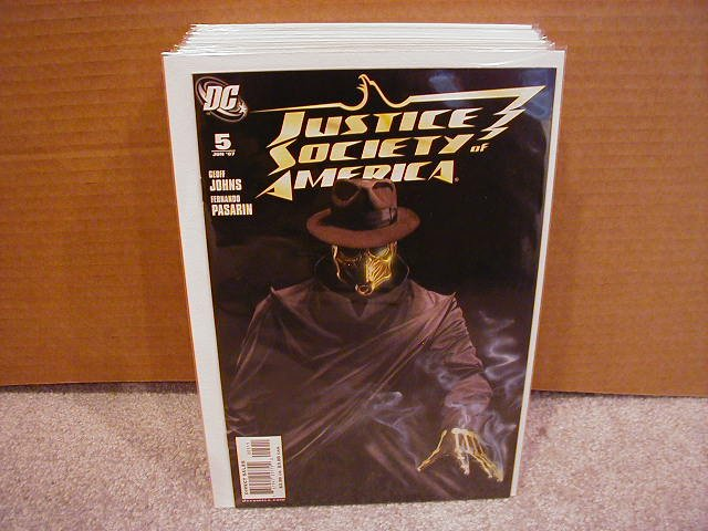 JUSTICE SOCIETY OF AMERICA #5 NM (2007)