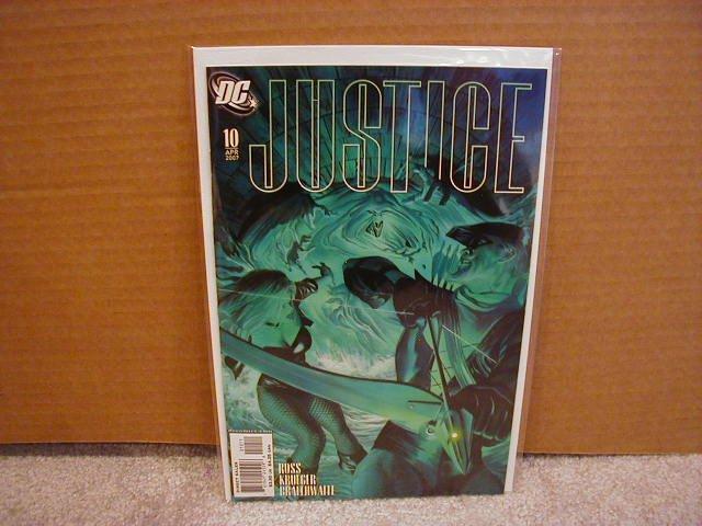 JUSTICE #10 NM (2007)