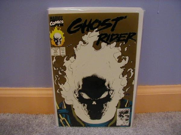 GHOST RIDER (1990) #15 GOLD GLOWING COVER