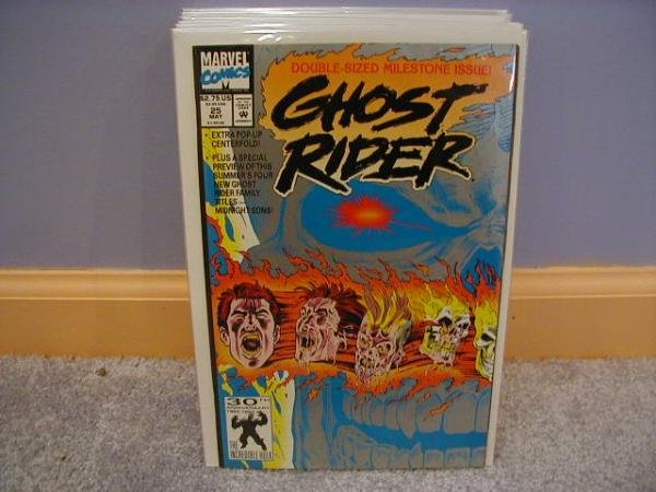 Ghost Rider (1990) #25 DOUBLE SIZE ISSUE