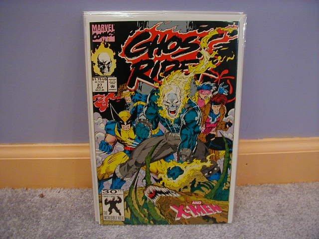 Ghost Rider (1990) #27 X-MEN