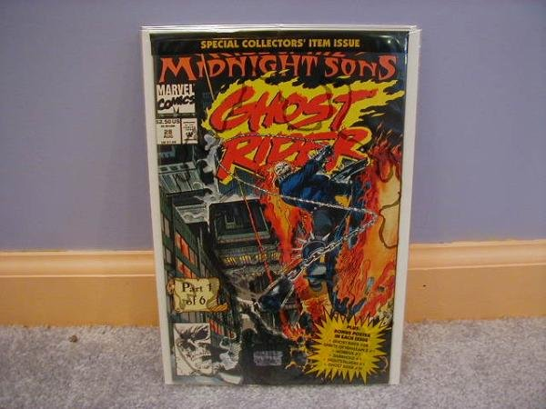 Ghost Rider (1990) #28 1ST RISE OF THE MIDNIGHT SONS