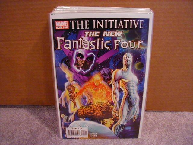 FANTASTIC FOUR #545 NM -- THE INITIATIVE