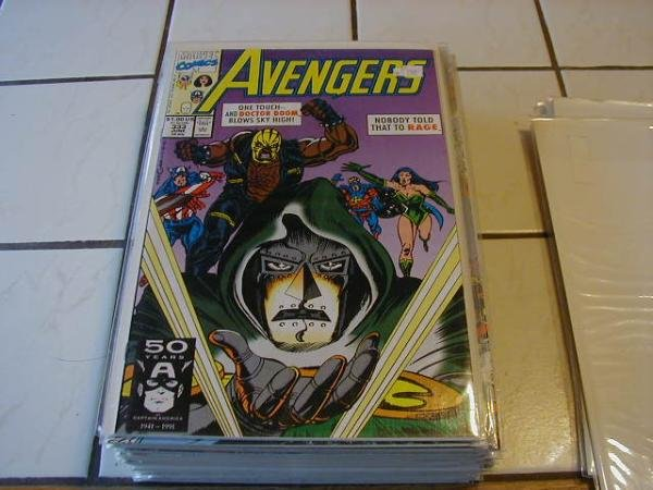 AVENGERS #333 VF/NM *Incentive Copy*
