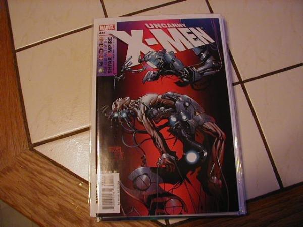 UNCANNY X-MEN #481 NM