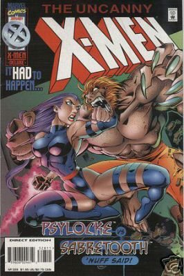 UNCANNY X-MEN #328 NM
