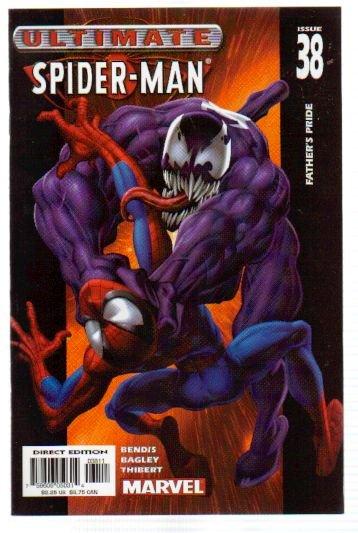 ULTIMATE SPIDER-MAN #38 NM  VENOM