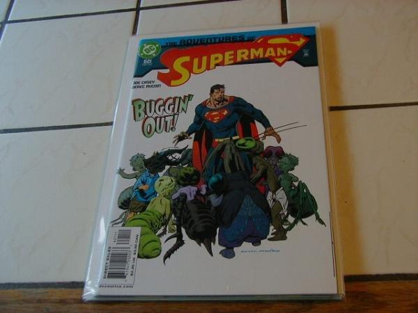 ADVENTURES OF SUPERMAN #621