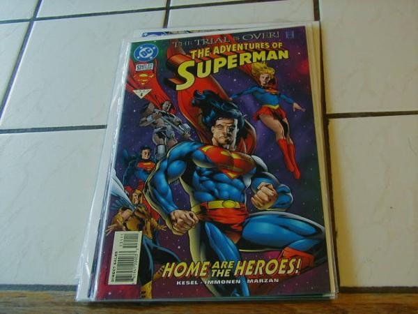 ADVENTURES OF SUPERMAN #531