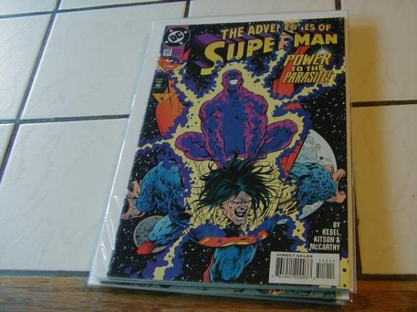ADVENTURES OF SUPERMAN #512