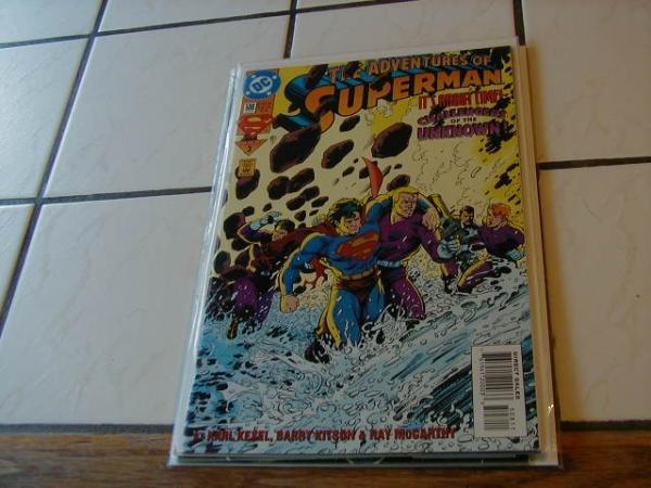 ADVENTURES OF SUPERMAN #508