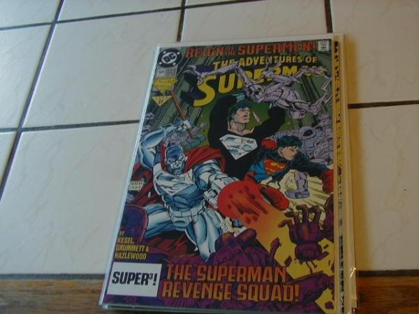 ADVENTURES OF SUPERMAN #504