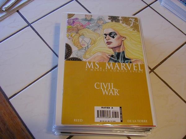 MS. MARVEL #7 NM (2006) CIVIL WAR