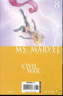 MS. MARVEL #8 NM (2006) CIVIL WAR