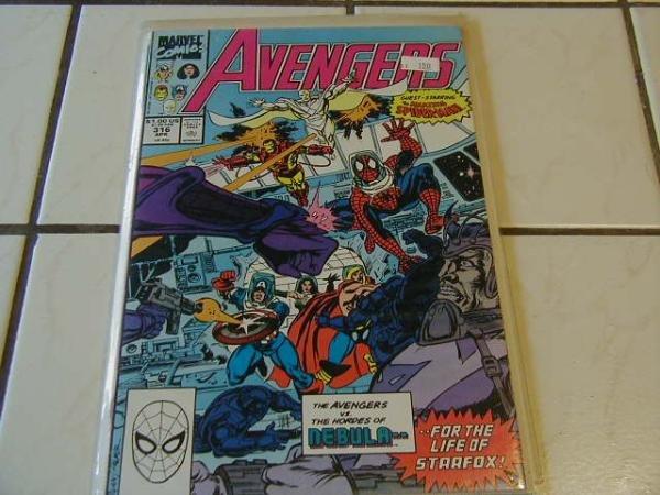 AVENGERS #316 SPIDER-MAN
