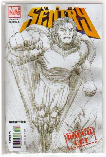 SENTRY #1 ROUGH CUT **SPECIAL EDITION** NM
