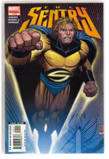 SENTRY #1-8 PLUS THE ROUGH CUT #1, COMPLETE SERIES