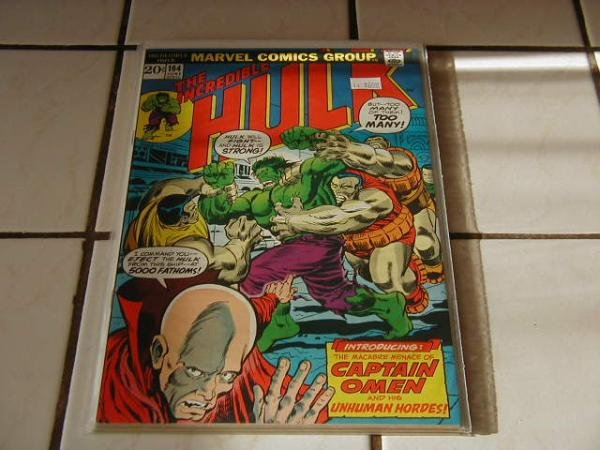 INCREDIBLE HULK #164 NM-