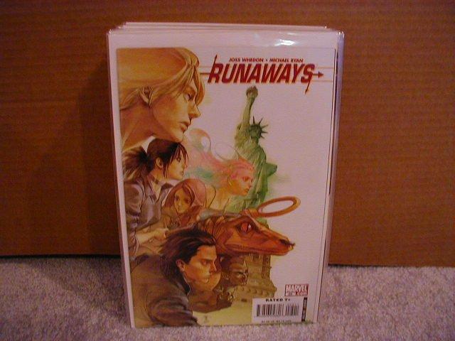 RUNAWAYS VOL 2 #25 NM 1st Josh Whedon