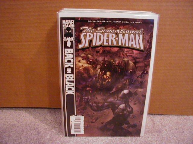 SENSATIONAL SPIDER-MAN #37 NM BACK IN BLACK