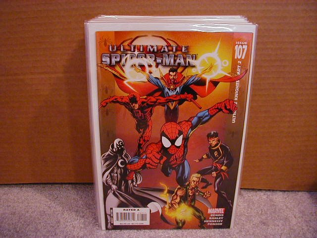 ULTIMATE SPIDER-MAN #107 NM