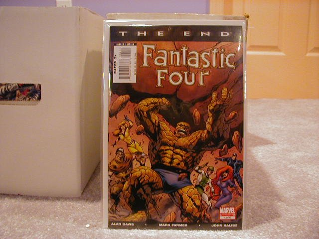 FANTASTIC FOUR THE END #4 NM