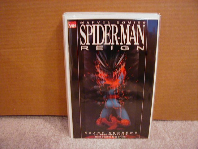 SPIDER-MAN REIGN #4 NM 1ST PRINT