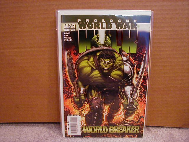WORLD WAR HULK PROLOGUE ONE-SHOT NM
