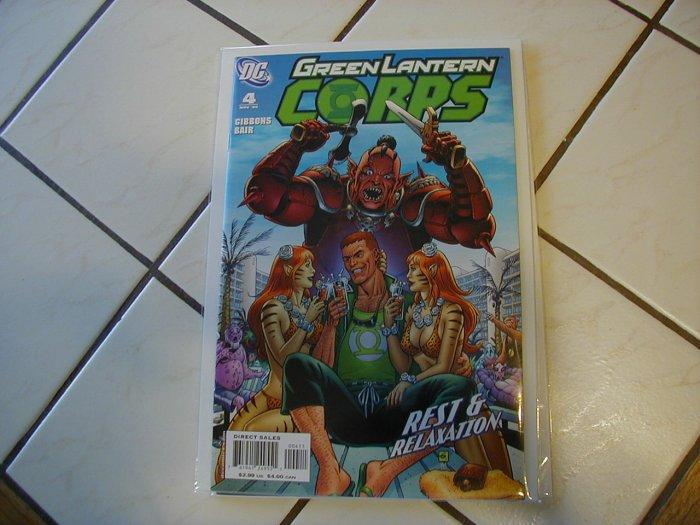 GREEN LANTERN CORPS #4 NM