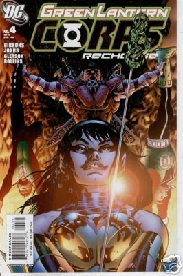 GREEN LANTERN CORPS RECHARGE #4 NM