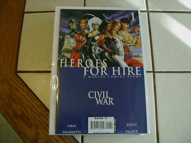 HEROES FOR HIRE #1 NM (2006)