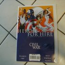 HEROES FOR HIRE #2 NM (2006) CIVIL WAR