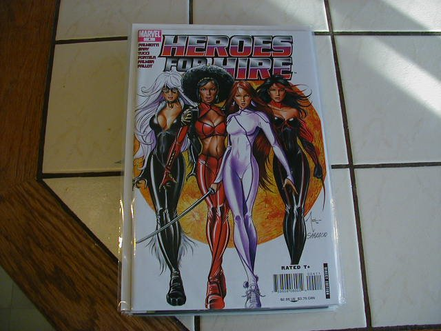 HEROES FOR HIRE #4 NM (2007)