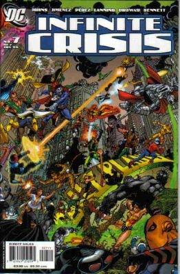 INFINITE CRISIS #7A NM  PEREZ COVER