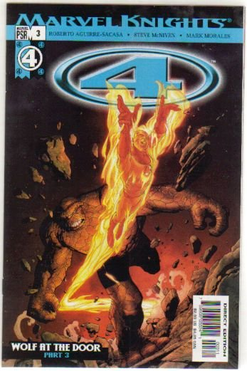 MARVEL KNIGHTS 4 #3 NM ** FANTASTIC FOUR**