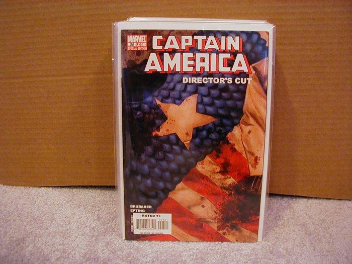 CAPTAIN AMERICA #25 NM  DIRECTOR'S CUT