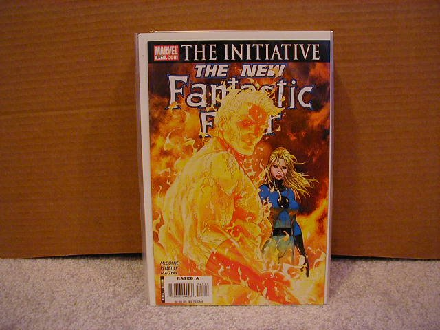 FANTASTIC FOUR #547 NM THE INITIATIVE