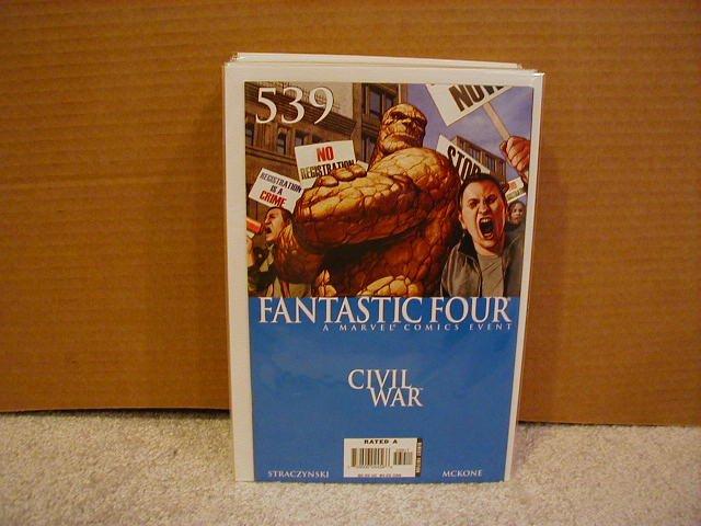 FANTASTIC FOUR #539 NM CIVIL WAR