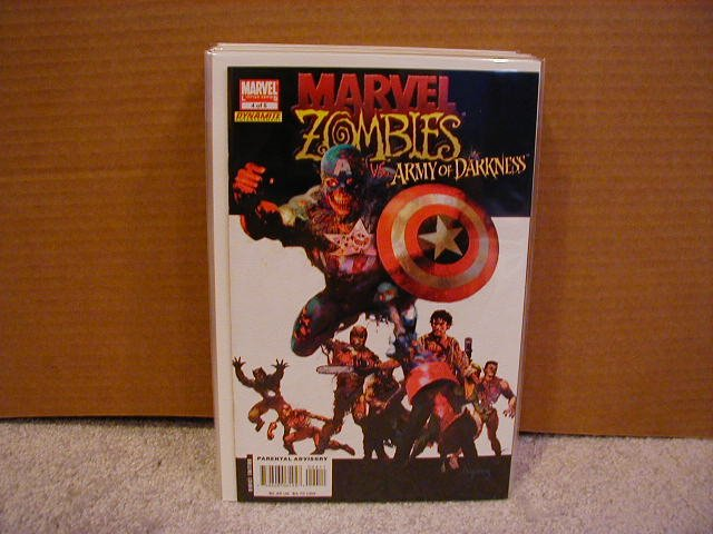 MARVEL ZOMBIES VS. ARMY OF DARKNESS #4 NM
