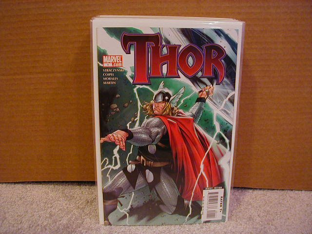THOR #1 NM  COVER A (2007) NEW SERIES