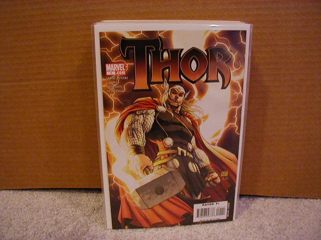 THOR #1 NM  COVER B (2007) NEW SERIES