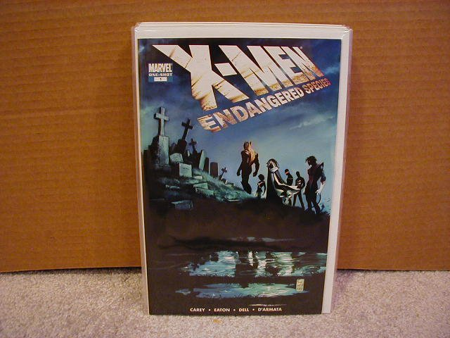 X-MEN ENDANGERED SPECIES ONE-SHOT SPECIAL NM