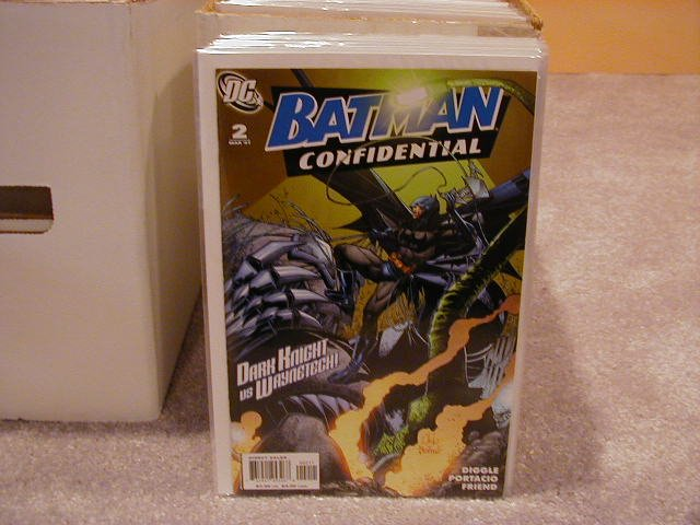 BATMAN CONFIDENTIAL #2 NM