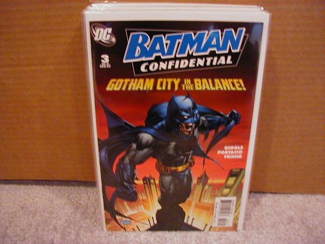 BATMAN CONFIDENTIAL #3 NM