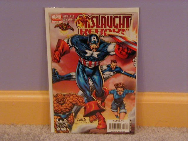 ONSLAUGHT REBORN #3A  NM